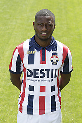 Karim Coulibaly during the team presentation of Willem II on July 13, 2018 at the Koning Willem II stadium in Tilburg, The Netherlands