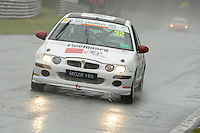 #32 Gary Wetton MG ZR 190 during the MGCC Cockshoot Cup at Oulton Park, Little Budworth, Cheshire, United Kingdom. September 03 2016. World Copyright Peter Taylor/PSP.