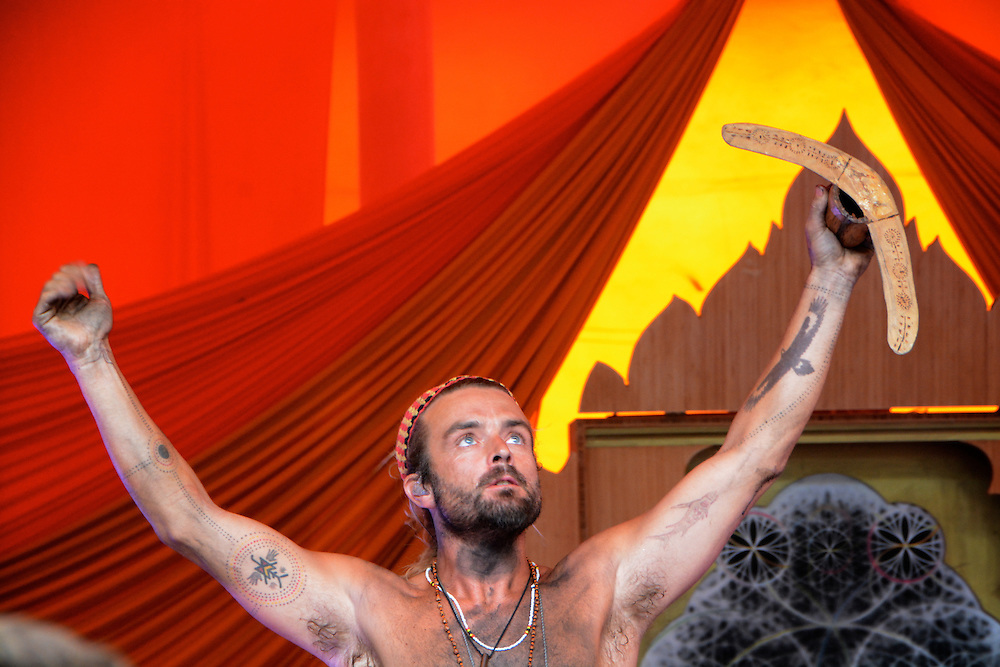 Creative Photographs from Beloved Sacred Arts Festival 2013 Xavier Rudd Xavier Rudd Xavier Rudd at Beloved Festival 2013