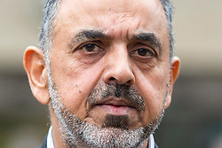 © Licensed to London News Pictures. 19/03/2019. Sheffield UK. Lord Nazir Ahmed of Rotherham leaving Sheffield Magistrates court this morning. Lord Ahmed has been charged with two counts of attempting to rape a girl, the former Labour peer is also charged with indecent assault of a boy under 13. It is alleged the offences took place between 1971 and 1974, when Lord Ahmed would have been aged between 14 and 17. Two other men, Mohammed Farouq, 68, and Mohammed Tariq, 63, both from Rotherham, have also been charged. Photo credit: Andrew McCaren/LNP