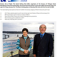 Ellen MacArthur, Round the Islanbd Race, Trust, Island Sailing Club, Cowes, Isle of Wight, UK,
