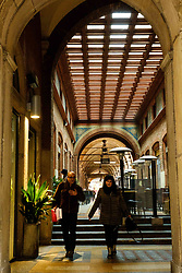 A restaurant in the Via Marchesana, Bologna, Italy<br /> <br /> (c) Andrew Wilson | Edinburgh Elite media