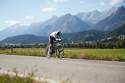Lisa Brennauer (GER) at UCI Road World Championships 2018 - Elite Women's ITT, a 27.7 km individual time trial in Innsbruck, Austria on September 25, 2018. Photo by Chris Auld/velofocus.com