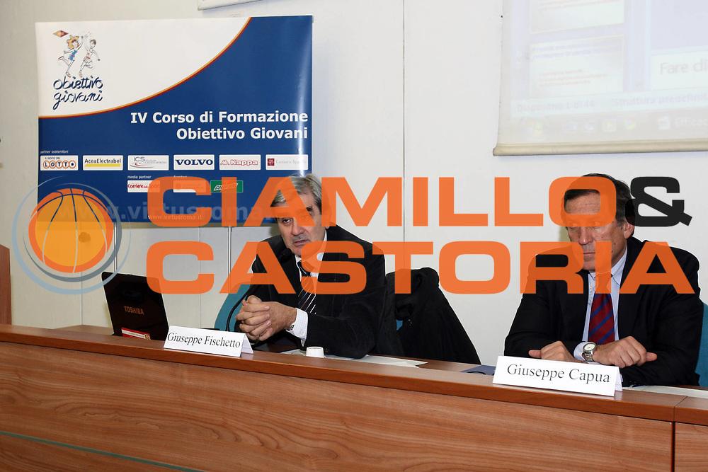 DESCRIZIONE : Roma Lega A 2009-10 IV Corso di Formazione Obiettivo Giovani Lottomatica Virtus Roma Modulo 2<br /> GIOCATORE : Giuseppe Fischetto<br /> SQUADRA : Federazione Atletica Leggera<br /> EVENTO : Campionato Lega A 2009-2010 <br /> GARA : <br /> DATA : 15/02/2010<br /> CATEGORIA : Ritratto<br /> SPORT : Pallacanestro <br /> AUTORE : Agenzia Ciamillo-Castoria/GiulioCiamillo<br /> Galleria : Lega Basket A 2009-2010 <br /> Fotonotizia : Roma Campionato Italiano Lega A 2009-2010 Lottomatica Virtus Roma Modulo 2<br /> Predefinita :
