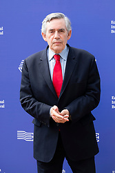 "Edinburgh, Scotland, UK; 15 August, 2018. Pictured; Former Prime Minister Gordon Brown promoting his political autobiography "" My Life, Our Times""."