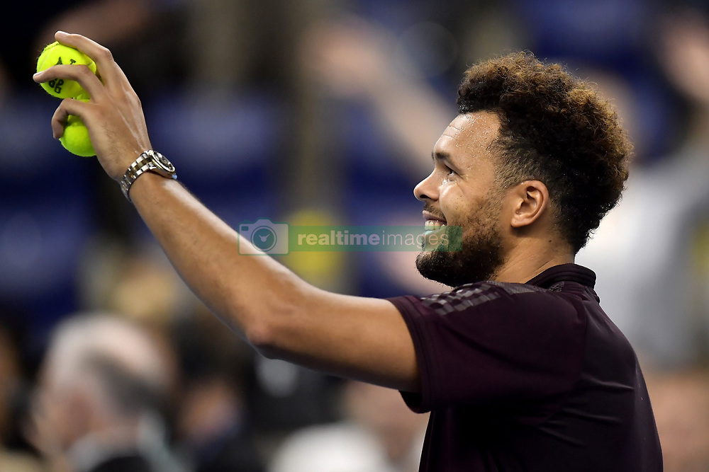 October 21, 2017 - Anvers, Belgique - Jo-Wilfried Tsonga  (Credit Image: © Panoramic via ZUMA Press)