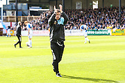 Bristol Rovers manager Darrell Clarke during the Sky Bet League 2 match between Bristol Rovers and Exeter City at the Memorial Stadium, Bristol, England on 23 April 2016. Photo by Shane Healey.