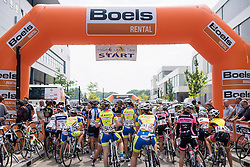 at Boels Hills Classic 2016. A 131km road race from Sittard to Berg en Terblijt, Netherlands on 27th May 2016.