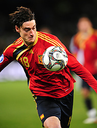 Albert Riera  during the Semi Final soccer match of the 2009 Confederations Cup between Spain and the USA played at the Freestate Stadium,Bloemfontein,South Africa on 24 June 2009.  Photo: Gerhard Steenkamp/Superimage Media.