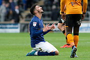 Said Benrahma of Brentford Celebrates at full time as Brentford beat Hull City 1-5 during the EFL Sky Bet Championship match between Hull City and Brentford at the KCOM Stadium, Kingston upon Hull, England on 1 February 2020.