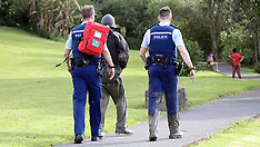 Auckland-Police helicopter aids rescue of man in mud, Te Atatu