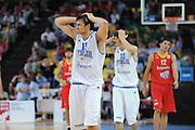 Taranto 04-06-2011<br /> Qualifying Tournament Eurobasket Women 2011<br /> Italia-Spagna<br /> Nella foto Alessandro Gentile<br /> Foto di Ciamillo-Castoria