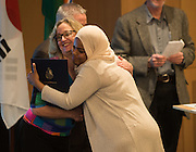 ESL Graduation ceremony at the Hemmingson Center. (Photo by Gonzaga University)