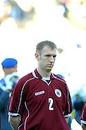 22.05.2002, Olympic Stadium, Helsinki, Finland..Friendly International match, Finland v Latvia..Igors N. Stepanovs - Latvia.©Juha Tamminen