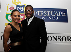 © Licensed to London News Pictures. 31/10/2012. London, U.K. .Ugo Monye (R) joined the star studded line-up for the Ugo Monye Halloween Ball supported by FIRSTCAPE WINE at Grovesnor House Hotel, Park Lane, London this evening (31/10/2012). An auction was held to raise money for Ugo Monye's selected charities: Help a capital child and The Rugby players benevolent fund..Photo credit : Rich Bowen/LNP