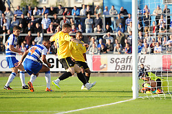 James Clarke of Bristol Rovers takes a shot at goal - Mandatory by-line: Dougie Allward/JMP - 21/07/2015 - SPORT - FOOTBALL - Bristol,England - Memorial Stadium - Bristol Rovers v Reading - Pre-Season Friendly