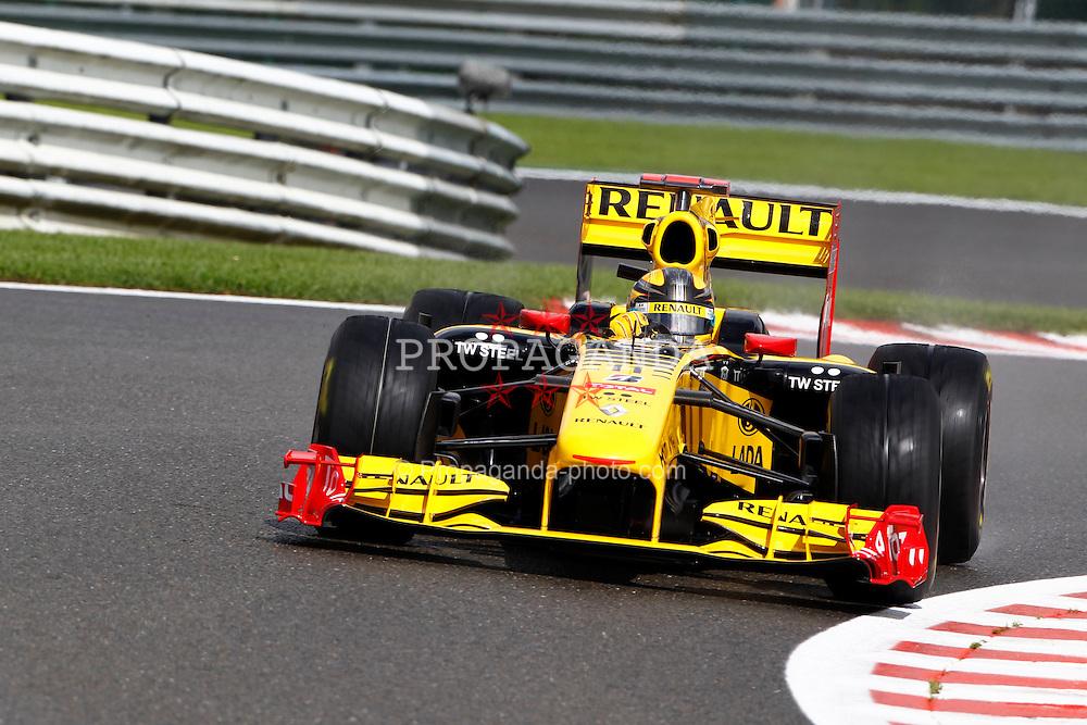 Motorsports / Formula 1: World Championship 2010, GP of Belgium, 11 Robert Kubica (POL, Renault F1 Team),
