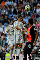 Real Madrid´s Chicharito during 2014-15 La Liga match between Real Madrid and Almeria at Santiago Bernabeu stadium in Madrid, Spain. April 29, 2015. (ALTERPHOTOS/Luis Fernandez)