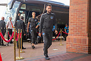 Ben Close (#33) of Portsmouth FC arrives for the EFL Sky Bet League 1 match between Sunderland and Portsmouth at the Stadium Of Light, Sunderland, England on 17 August 2019.