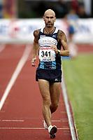 Friidrett, , 20. august  2010 , NM senior , hovedmesterskapet <br /> <br /> Kappgang , Trond Nymark ,vant 5000 m