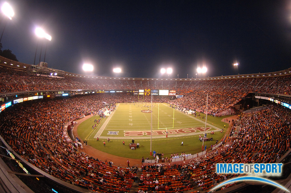 Dec 15, 2007; San Francisco, CA, USA; General view of Monster Park during game between Cincinnati Bengals and San Francisco 49ers. Mandatory Credit: Kirby Lee/Image of Sport-US PRESSWIRE