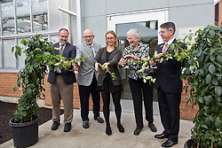 Dedication of the Carol Sheffels Quigg Greenhouse at PLU on Monday, Oct. 19, 2015. (Photo/John Froschauer)