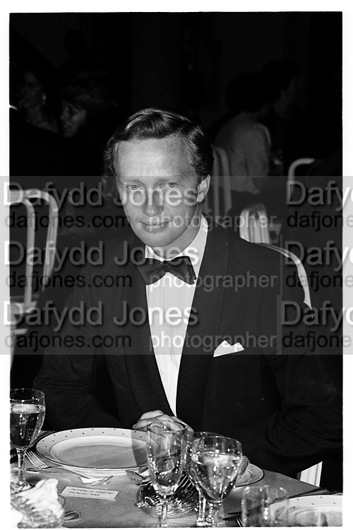 Archduke  Christian of Austria. Party to launch Faberge exhibition at Baron Thyssen's Villa Favorita, Lugano. 20 April 1987. © Copyright Photograph by Dafydd Jones 66 Stockwell Park Rd. London SW9 0DA Tel 020 7733 0108 www.dafjones.com