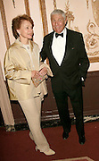 Honoree Don Hewitt and wife at the 3rd Annual Directors Guild Of America Honors at the Waldorf-Astoria in New York City. June 9, 2002. <br />Photo: Evan Agostini/ImageDirect