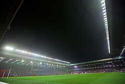 LIVERPOOL, ENGLAND - Thursday, November 26, 2015: Liverpool take on FC Girondins de Bordeaux during the UEFA Europa League Group Stage Group B match at Anfield. (Pic by David Rawcliffe/Propaganda)