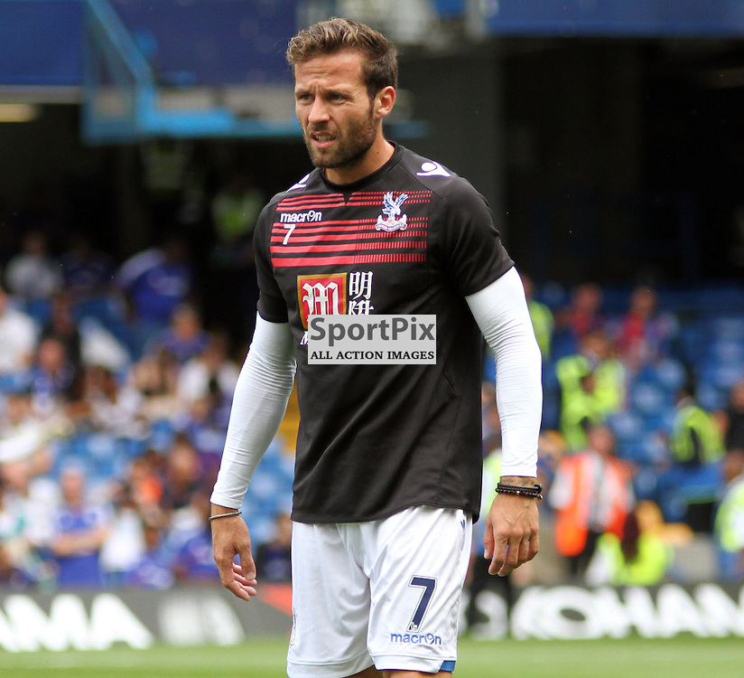 Yohan Cabaye During Chelsea vs Crystal Palace on Saturday the 29th August 2015
