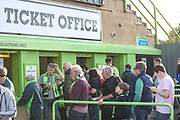 Ticket office during the EFL Sky Bet League 2 second leg Play Off match between Forest Green Rovers and Tranmere Rovers at the New Lawn, Forest Green, United Kingdom on 13 May 2019.