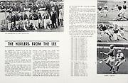 All Ireland Senior Hurling Championship Final,.04.09.1966, 09.04.1966, 4th September 1966,.Minor Cork v Wexford, .Senior Kilkenny v Cork, Cork 3-09 Kilkenny 1-10,..The Hurlers from the Lee, .The Immortal men of Cork's four in a row,
