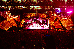 The Grateful Dead Live in Concert at Giants Stadium June 17, 1991. Almost full Set, Audience and Stage. Lights and Set Design by Candace Brightman.