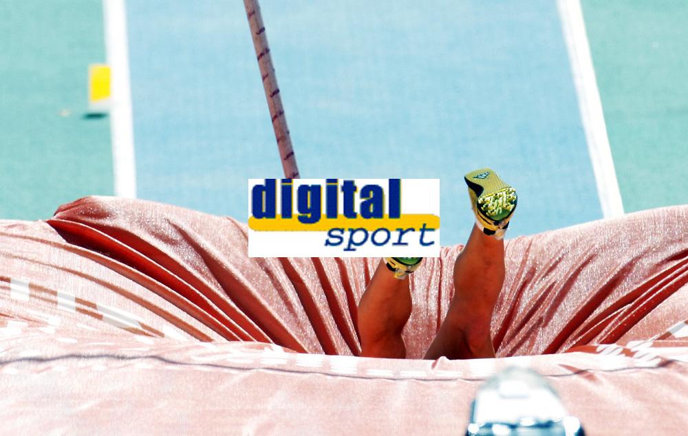 Friidrett, 28. juli  2010 ,<br /> EM Barcelona<br /> <br /> European Athletics Championships<br /> Barcelona<br /> <br /> Cathrine Lars&aring;sen , Norge i stav<br /> <br /> Foto: Anders Hoven , Digitalsport