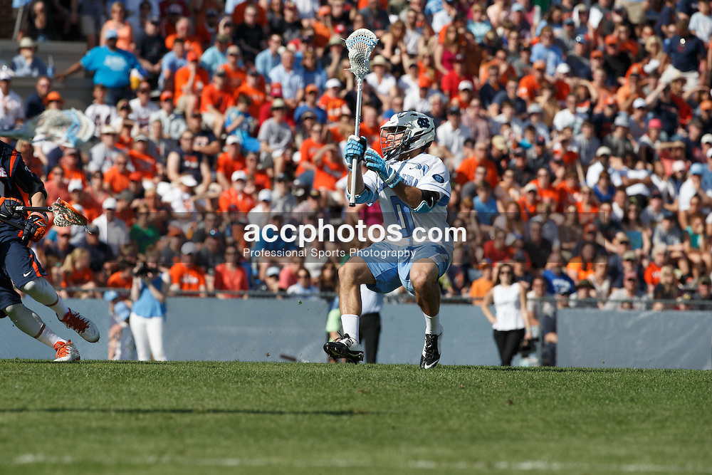 CHAPEL HILL, NC - APRIL 11: Steve Pontrello #0 of the North Carolina Tar Heels plays against the Syracuse Orange on April 11, 2015 at Fetzer Field in Chapel Hill, North Carolina. North Carolina won 17-15. (Photo by Peyton Williams/US Lacrosse/Getty Images) *** Local Caption *** Steve Pontrello