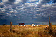 An abandoned farmhouse in Northeastern Colorado, August 15, 2010.