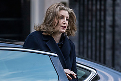 © Licensed to London News Pictures. 08/01/2019. London, UK. Secretary of State for International Development Penny Mordaunt on Downing Street for the Cabinet meeting. Photo credit: Rob Pinney/LNP