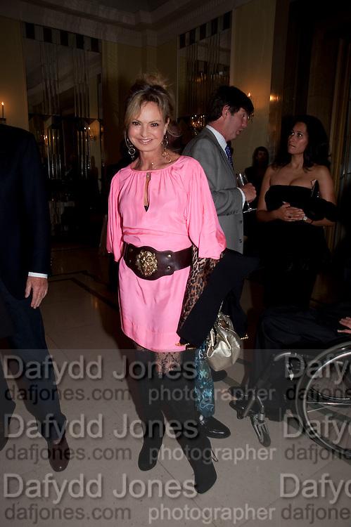 MAYA VON SCHONBBURG;, Book launch of Lady Annabel Goldsmith's third book, No Invitation Required. Claridges's. London. 11 November 2009
