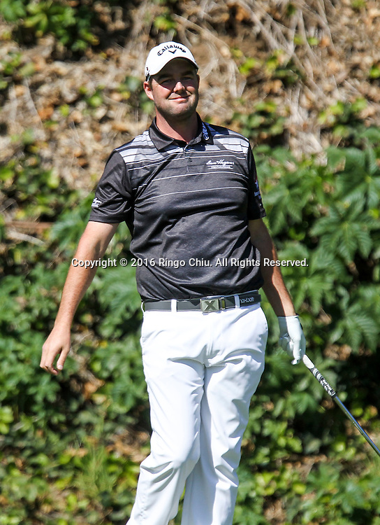 Marc Leishman plays in the Final Round of the Northern Trust Open at the Riviera Country Club on February 21, 2016, in Los Angeles,(Photo by Ringo Chiu/PHOTOFORMULA.com)<br /> <br /> Usage Notes: This content is intended for editorial use only. For other uses, additional clearances may be required.