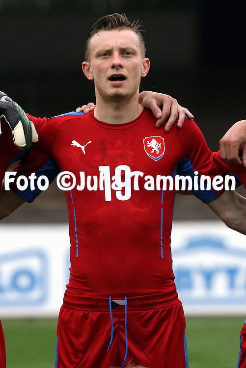 21.5.2014, Olympic Stadium, Helsinki, Finland.<br /> Friendly International match Finland v Czech Republic.<br /> Ladislav Krejcl - Czech Rep.
