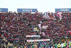 """Foto Filippo Rubin<br /> 04/02/2018 Bologna (Italia)<br /> Sport Calcio<br /> Bologna - Fiorentina - Campionato di calcio Serie A 2017/2018 - Stadio """"Renato Dall'Ara""""<br /> Nella foto: I TIFOSI DEL BOLOGNA<br /> <br /> Photo by Filippo Rubin<br /> January 04, 2018 Bologna (Italy)<br /> Sport Soccer<br /> Bologna vs Fiorentina - Italian Football Championship League A 2017/2018 - """"Renato Dall'Ara"""" Stadium <br /> In the pic: BOLOGNA SUPPORTERS"""