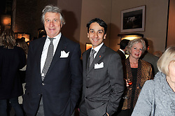 Left to right, ARNAUD BAMBERGER and FRANCOIS LE TROQUER at a party to celebrate the launch of Carol Woolton's book 'Drawing Jewels For Fashion' held at Asprey, 167 New Bond Street, London W1 on 10th November 2011.