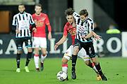 (L-R) *Joris van Overeem* of AZ Alkmaar, *Tim Breukers* of Heracles Almelo