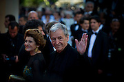 Costa Gavras at the 'The Artist' premiere at the Palais des Festivals during the 64th Annual Cannes Film Festival on May 15, 2011 in Cannes, France