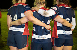 Bristol Ladies show off their shirts sponsored by Astrasec.com - Mandatory by-line: Paul Knight/JMP - 16/12/2017 - RUGBY - Cleve RFC - Bristol, England - Bristol Ladies v Worcester Valkyries - Tyrrells Premier 15s