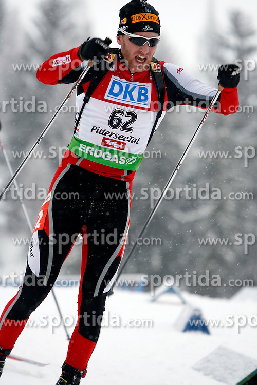 15.12.2011, Biathlonzentrum, Hochfilzen, AUT, E.ON IBU Weltcup, 3. Biathlon, Hochfilzen, Sprint Maenner, im Bild Simon Eder (AUT) // during Sprint men E.ON IBU World Cup 3th Biathlon, Hochfilzen, Austria on 2011/12/15. EXPA Pictures © 2011, PhotoCredit: EXPA/ Oskar Hoeher