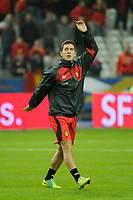 FOOTBALL - FRIENDLY GAME 2011 - FRANCE v BELGIUM - 15/11/2011 - PHOTO JEAN MARIE HERVIO / DPPI - EDEN HAZARD (BEL) DURING TRAINING
