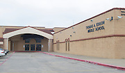 Edison Middle School, April 18, 2013. The school was part of the 2007 bond.