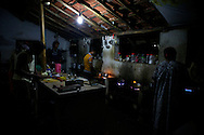 Kitchen in one of the many hostels at Om Beach, great food by the way!
