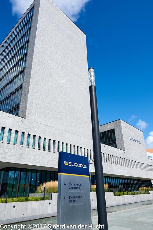 Europol, Den Haag. Multinationale onderzoeksorganisatie en het samenwerkingsverband van de politiediensten van de Europese Unie - Europol, The Hague, Netherlands. The law enforcement agency of the European Union